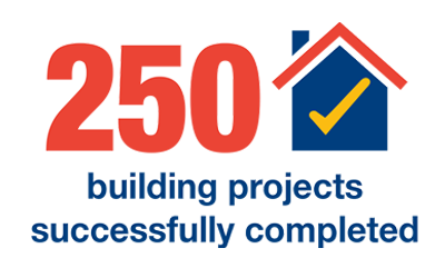 Over 250 Successful Projects